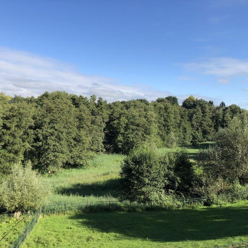 Uitzicht op het Natura 2000 gebied